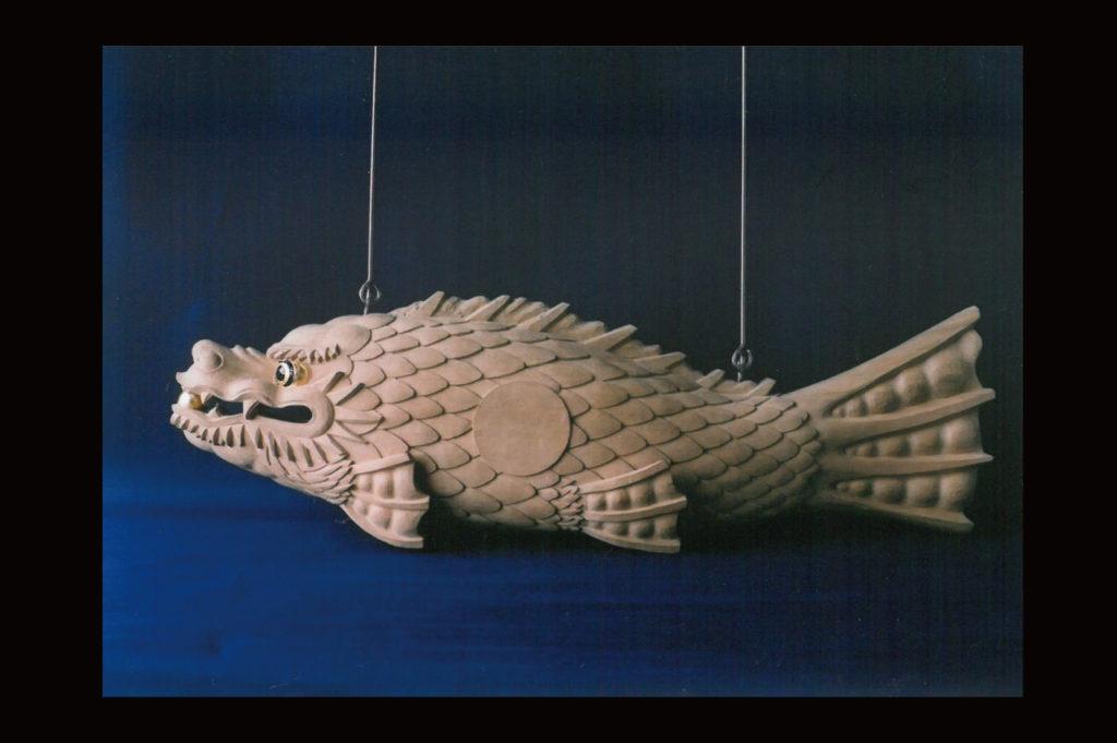 置物の魚鼓