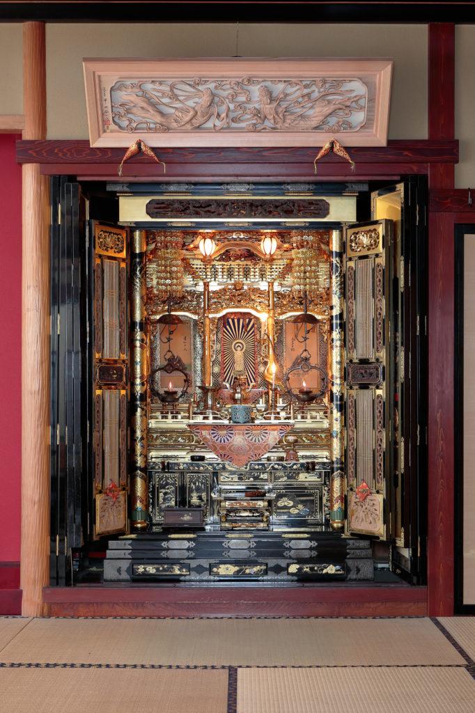 仏間欄間の施工例