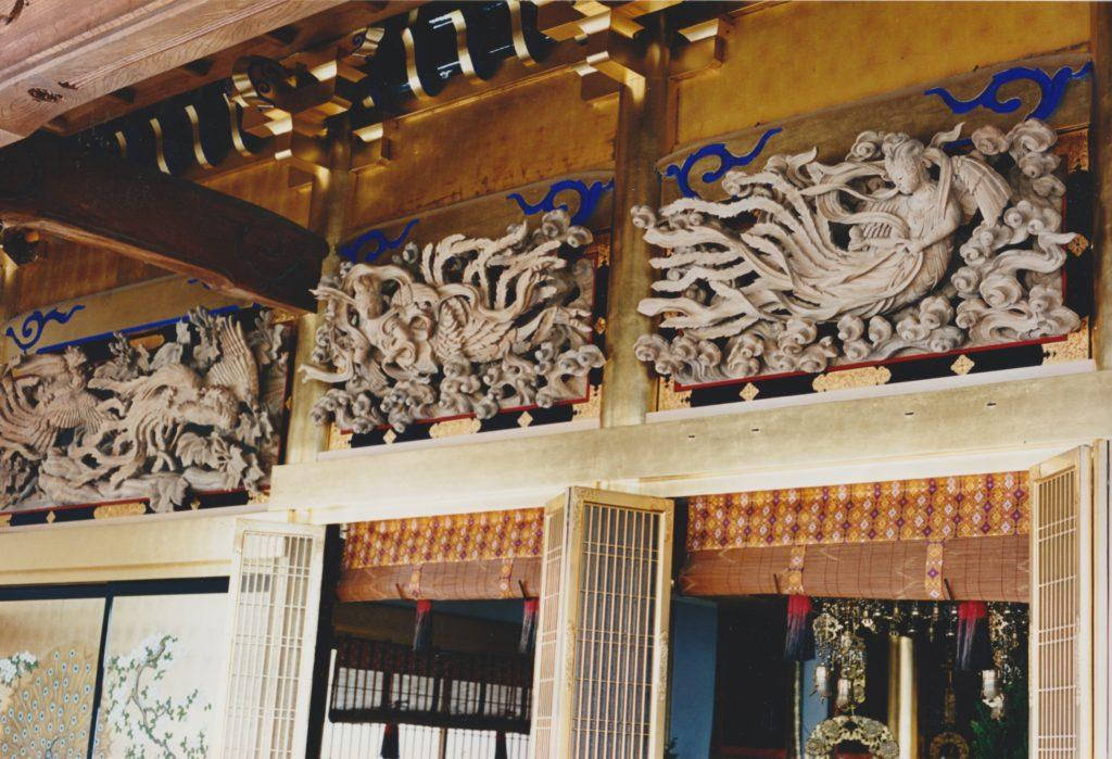 阿弥陀堂欄間の施工例